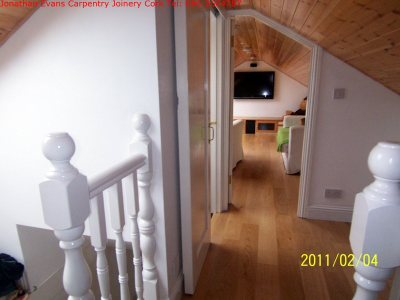 Attic Conversions Cork Ballincollig Carpentry Joinery Cork