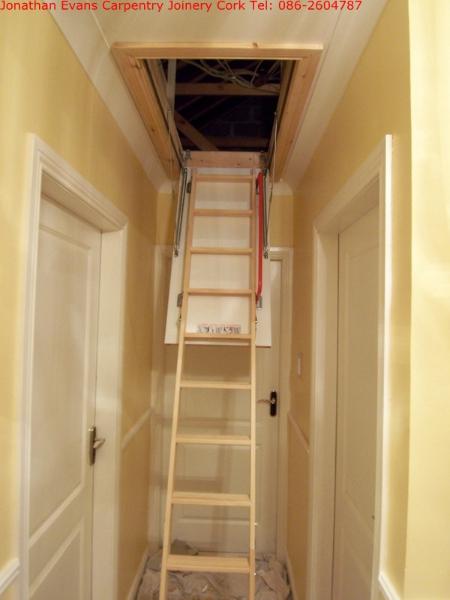 018 Attic Stairs Ladders Cork Tel 0862604787