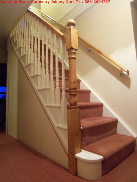 Stairs Refit Cork Ballincollig Carpentry Joinery Cork