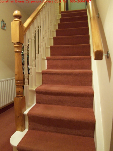 Staircase Refurbishment Cork Ballincollig Carpentry