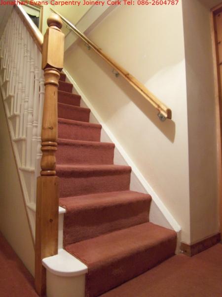 Staircase Refurbishment Cork Ballincollig Carpentry